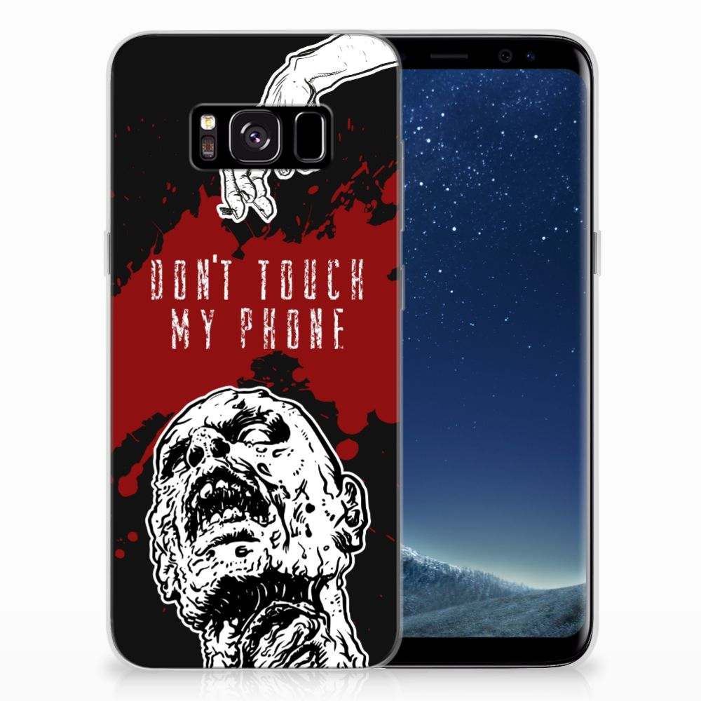 Samsung Galaxy S8 Silicone-hoesje Zombie Blood