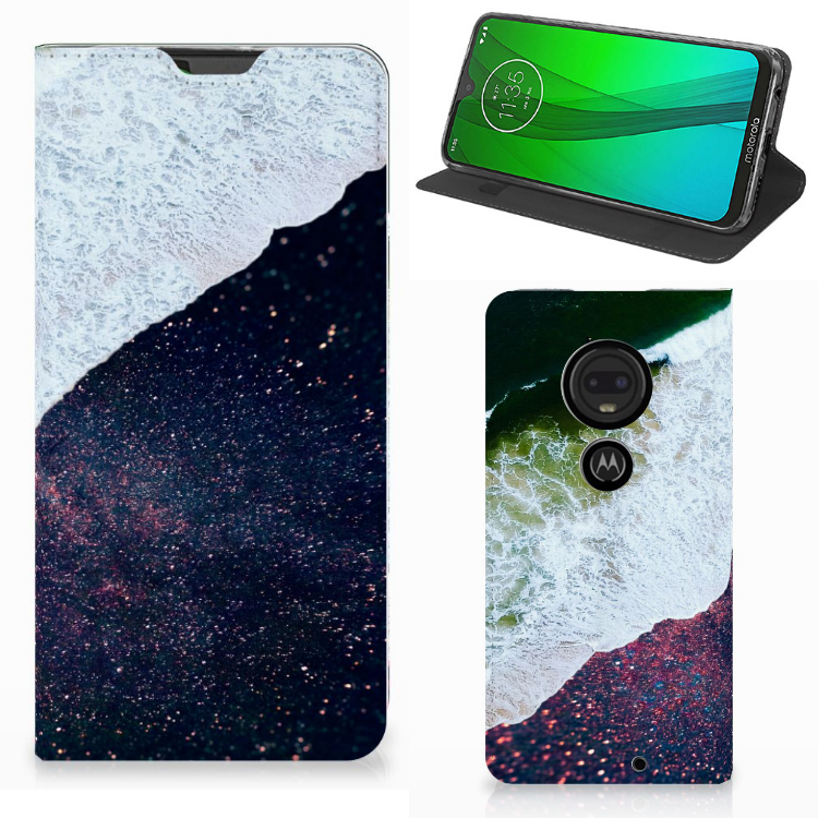 Motorola Moto G7 | G7 Plus Stand Case Sea in Space