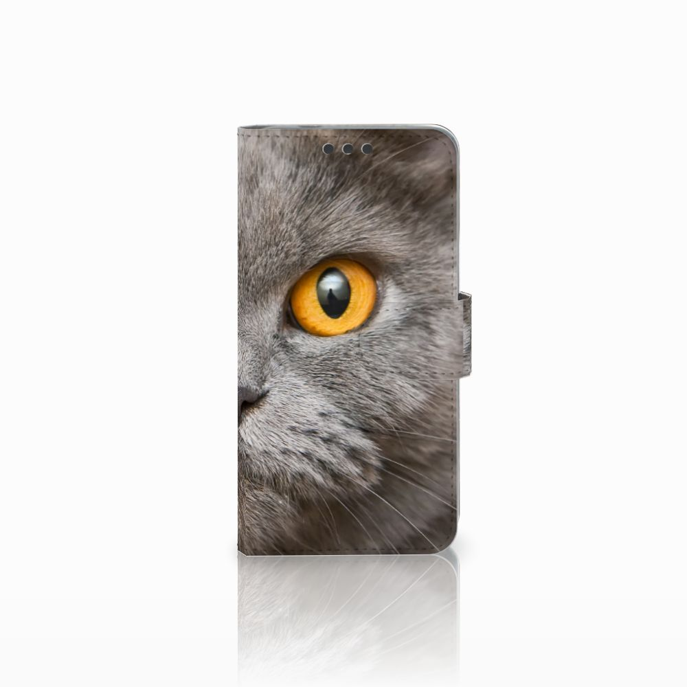 Telefoonhoesje met Pasjes Microsoft Lumia 650 Britse Korthaar