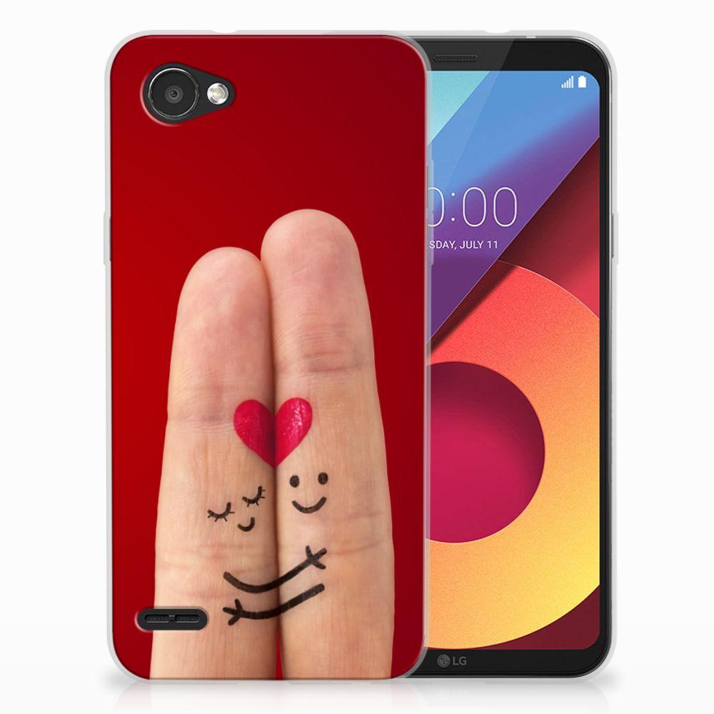 LG Q6   LG Q6 Plus Uniek TPU Hoesje Liefde