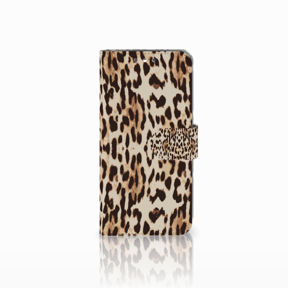 Wiko Wim Uniek Boekhoesje Leopard