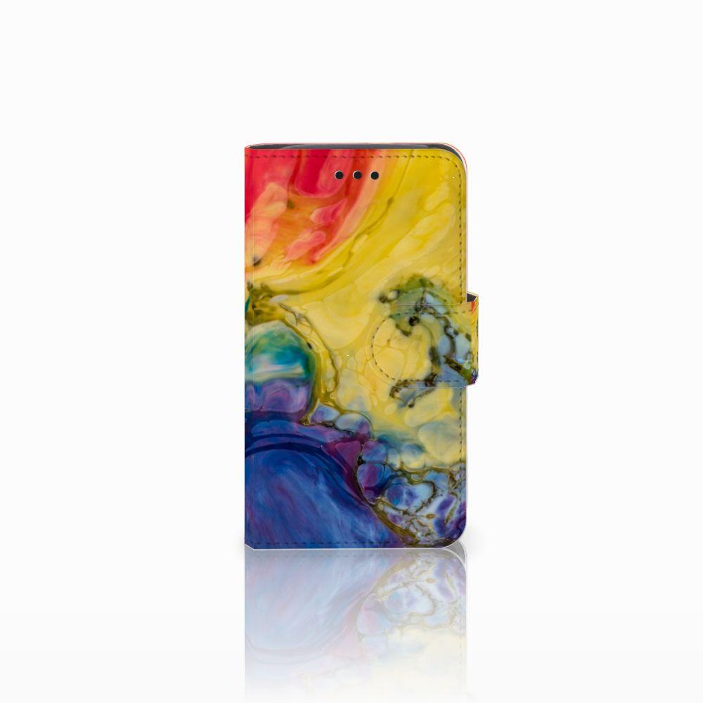 Hoesje Samsung Galaxy Core i8260 Watercolor Dark