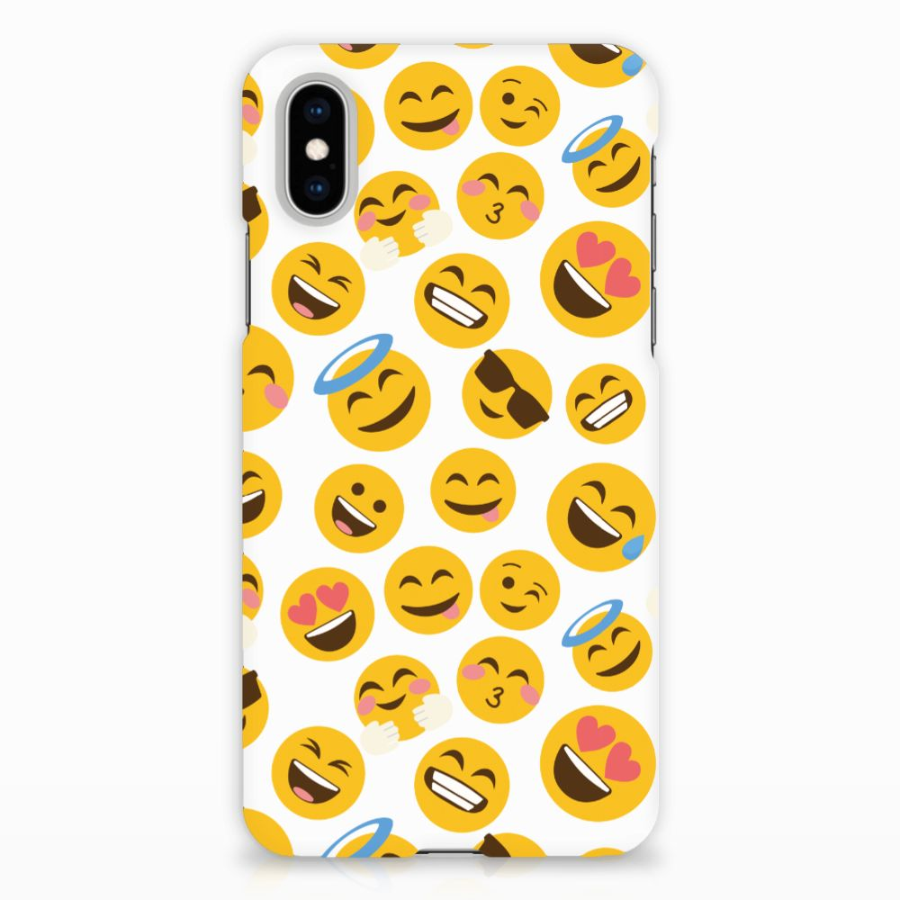 Apple iPhone X | Xs Hardcase Hoesje Design Emoji