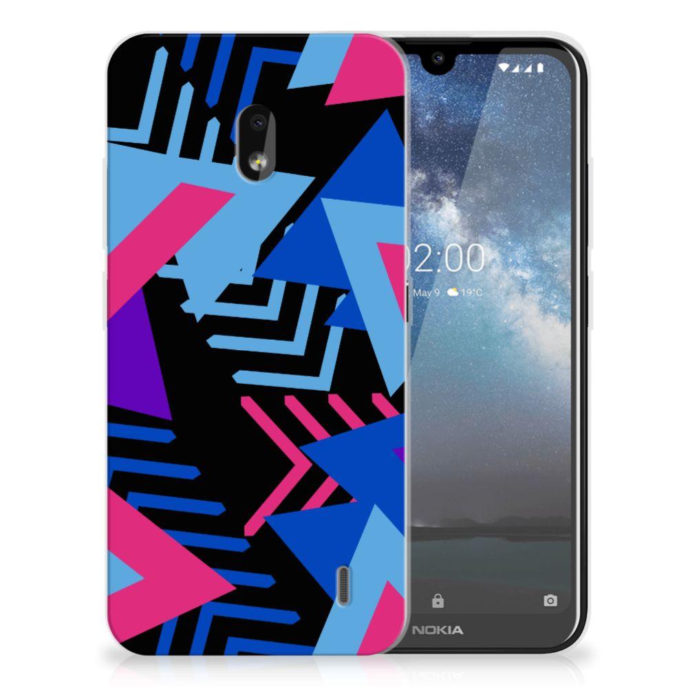 Nokia 2.2 TPU Hoesje Funky Triangle