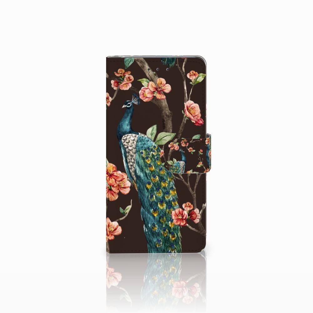 Samsung Galaxy Grand Prime | Grand Prime VE G531F Boekhoesje Design Pauw met Bloemen