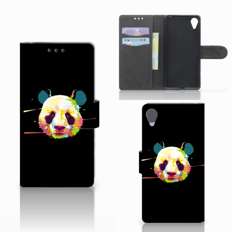 Sony Xperia X Performance Leuke Hoesje Panda Color