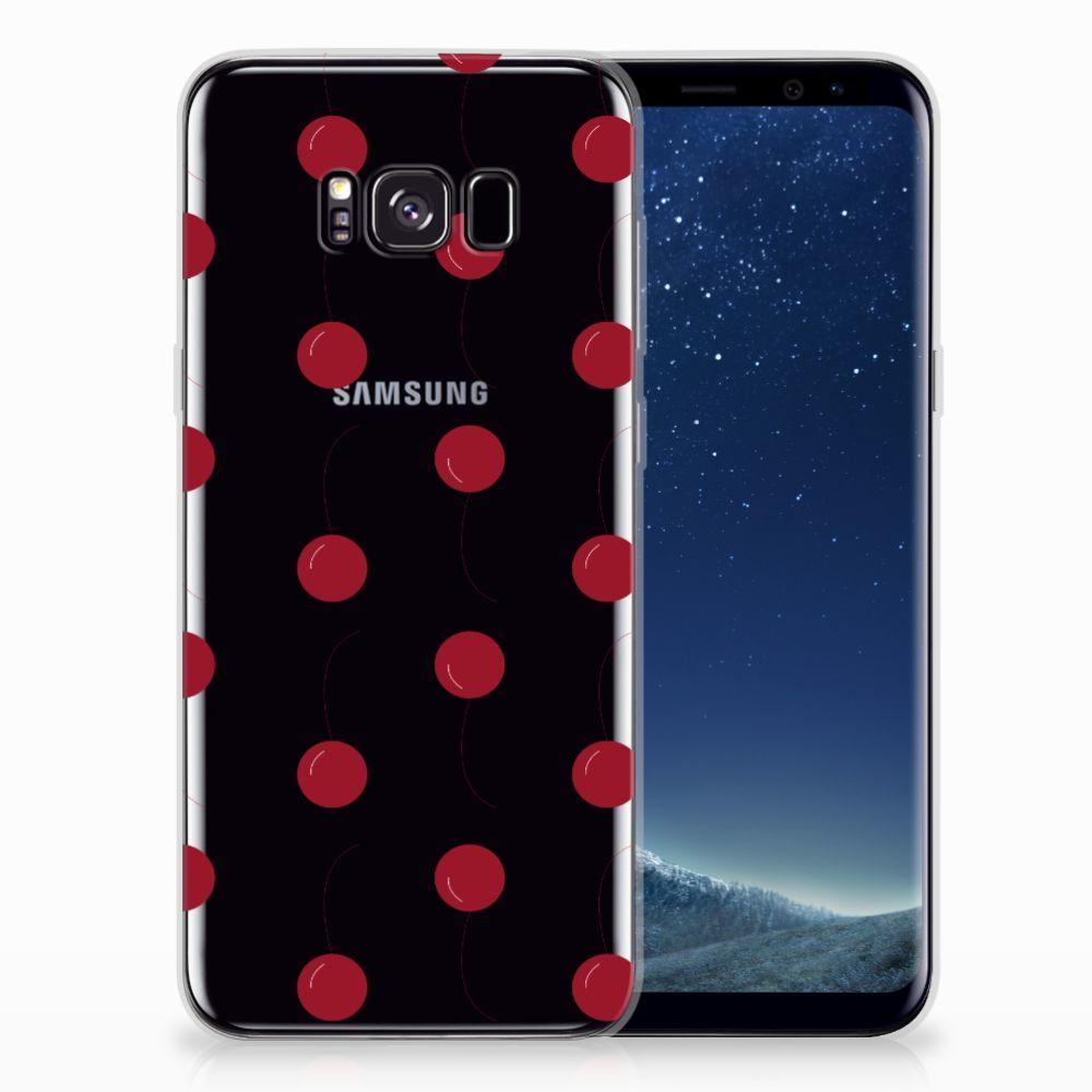Samsung Galaxy S8 Plus Siliconen Case Cherries