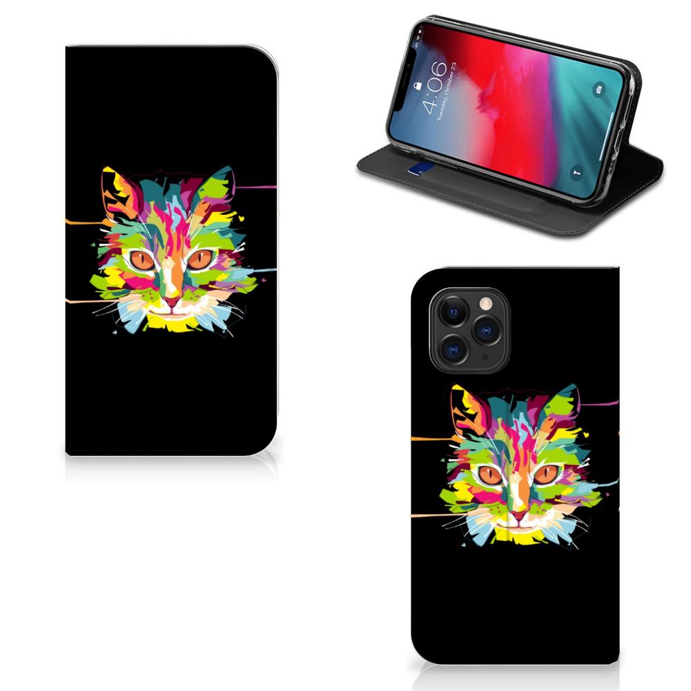 Apple iPhone 11 Pro Magnet Case Cat Color