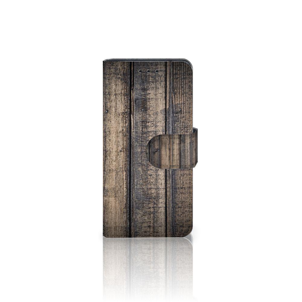 Samsung Galaxy S5 Mini Boekhoesje Design Steigerhout