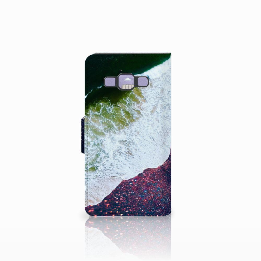 Samsung Galaxy A3 2015 Bookcase Sea in Space