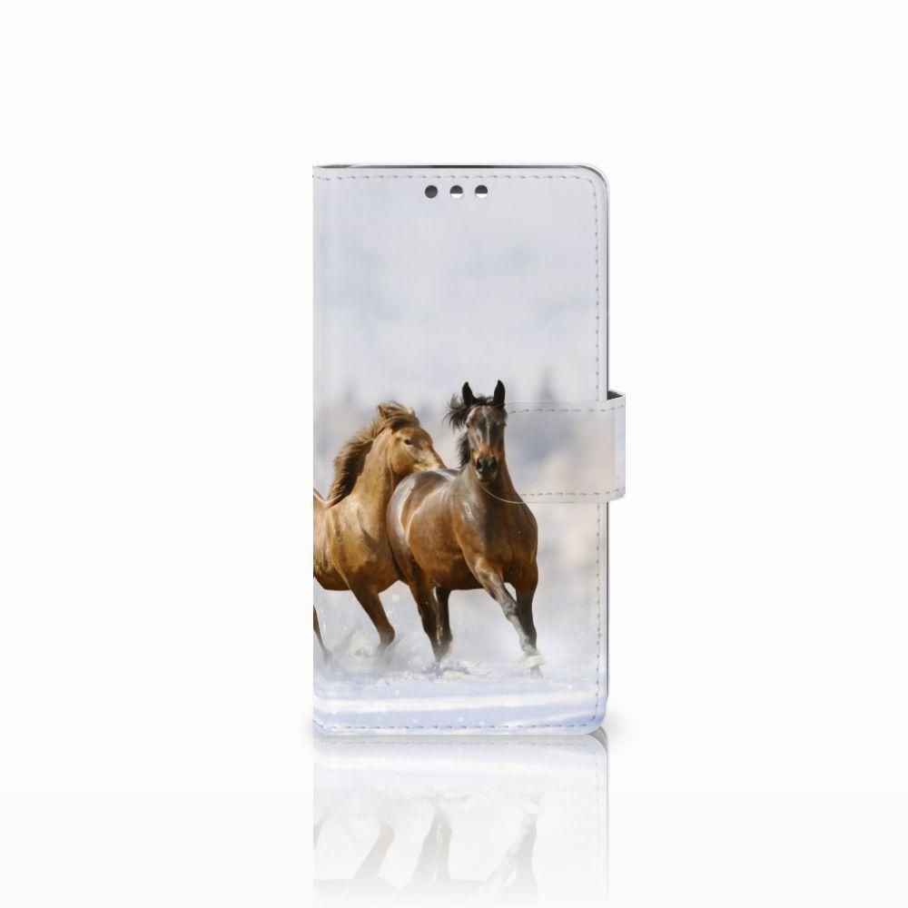 LG K8 Uniek Boekhoesje Paarden