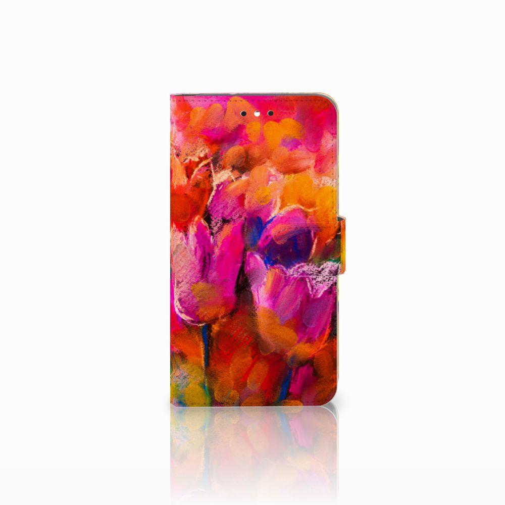 Motorola Moto G4 | G4 Plus Boekhoesje Design Tulips