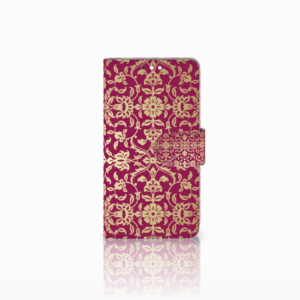 Nokia 8 Sirocco | Nokia 9 Boekhoesje Design Barok Pink