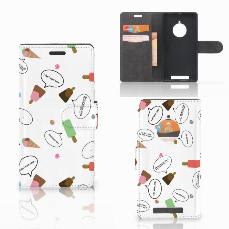 Nokia Lumia 830 Book Cover IJsjes