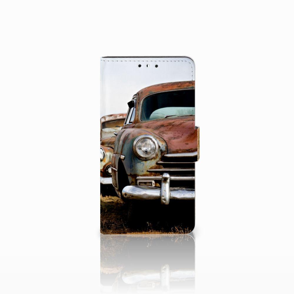 Huawei Y5 | Y6 2017 Uniek Boekhoesje Vintage Auto