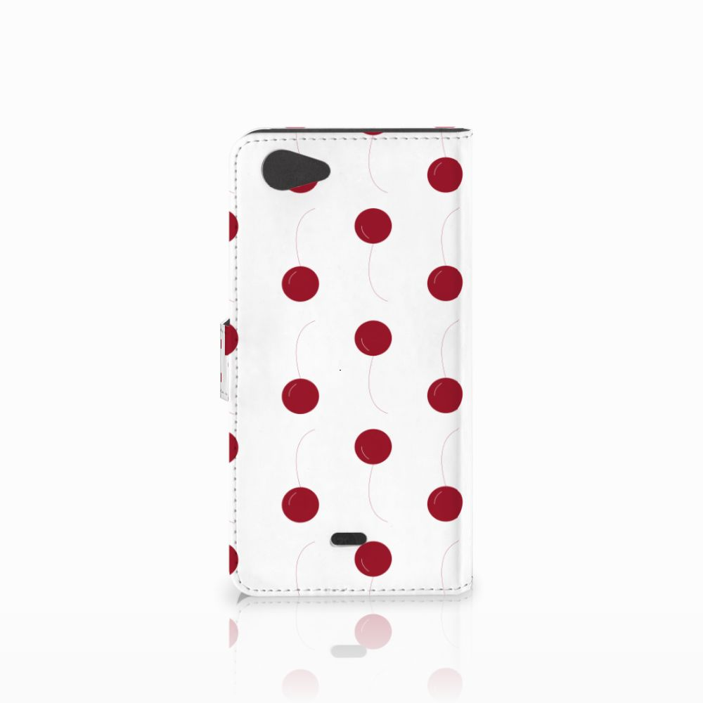 Wiko Pulp Fab 4G Book Cover Cherries