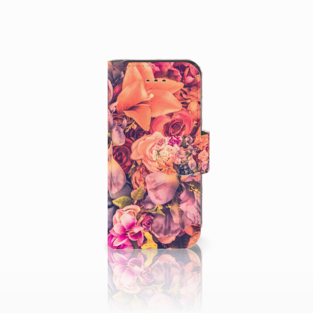 Apple iPhone 5C Boekhoesje Design Bosje Bloemen