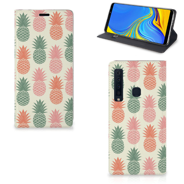 Samsung Galaxy A9 (2018) Flip Style Cover Ananas