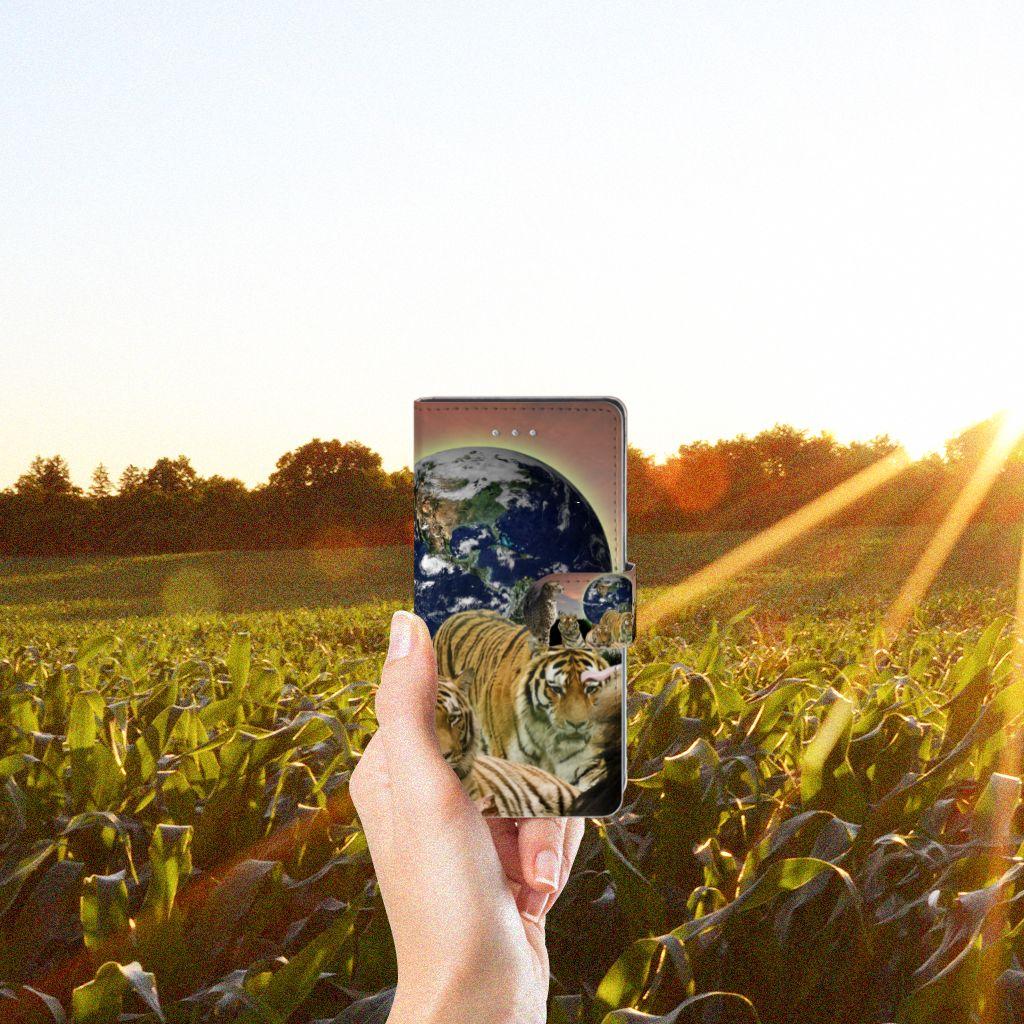 LG Nexus 5X Telefoonhoesje met Pasjes Roofdieren