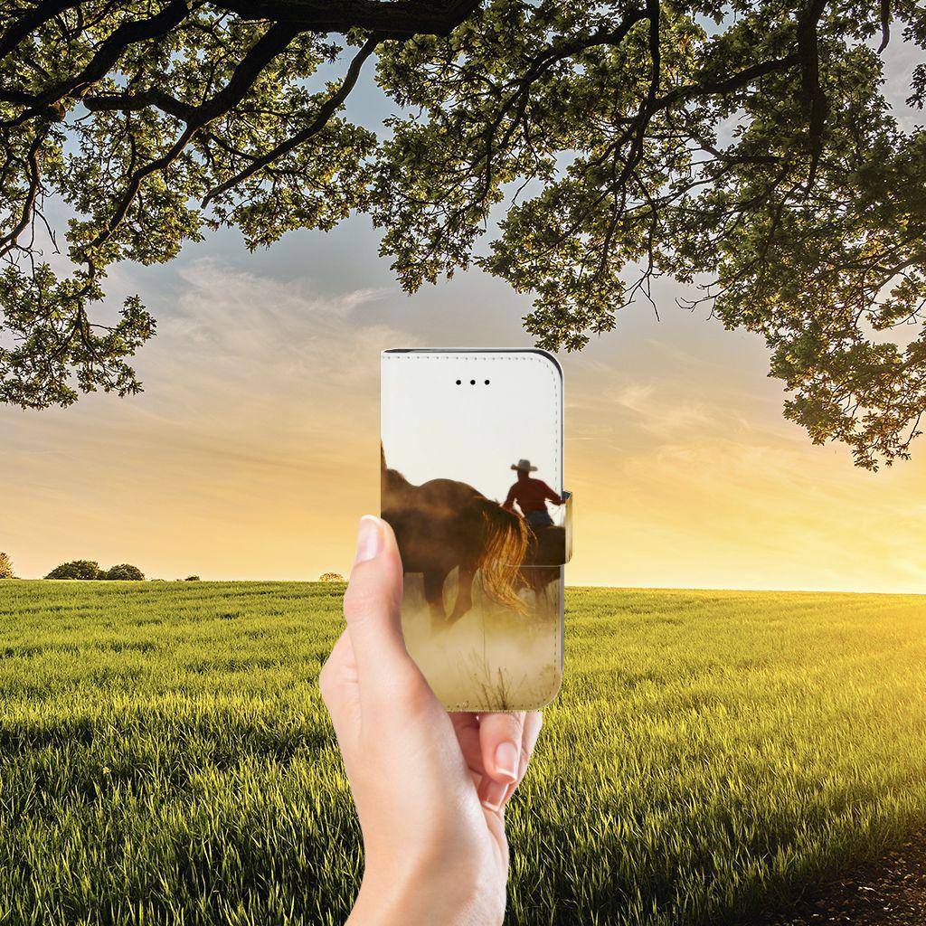 iPhone 7 | 8 | SE (2020) Telefoonhoesje met Pasjes Design Cowboy