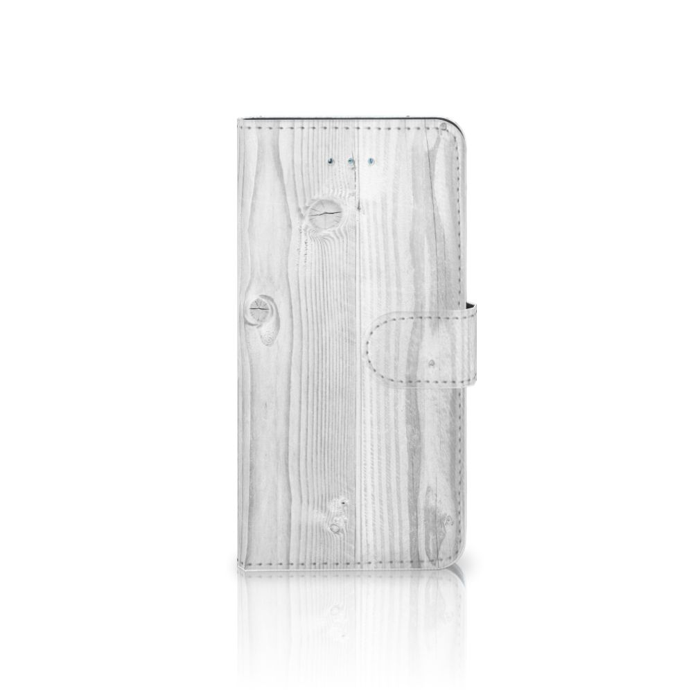 Honor 4A | Y6 Book Style Case White Wood