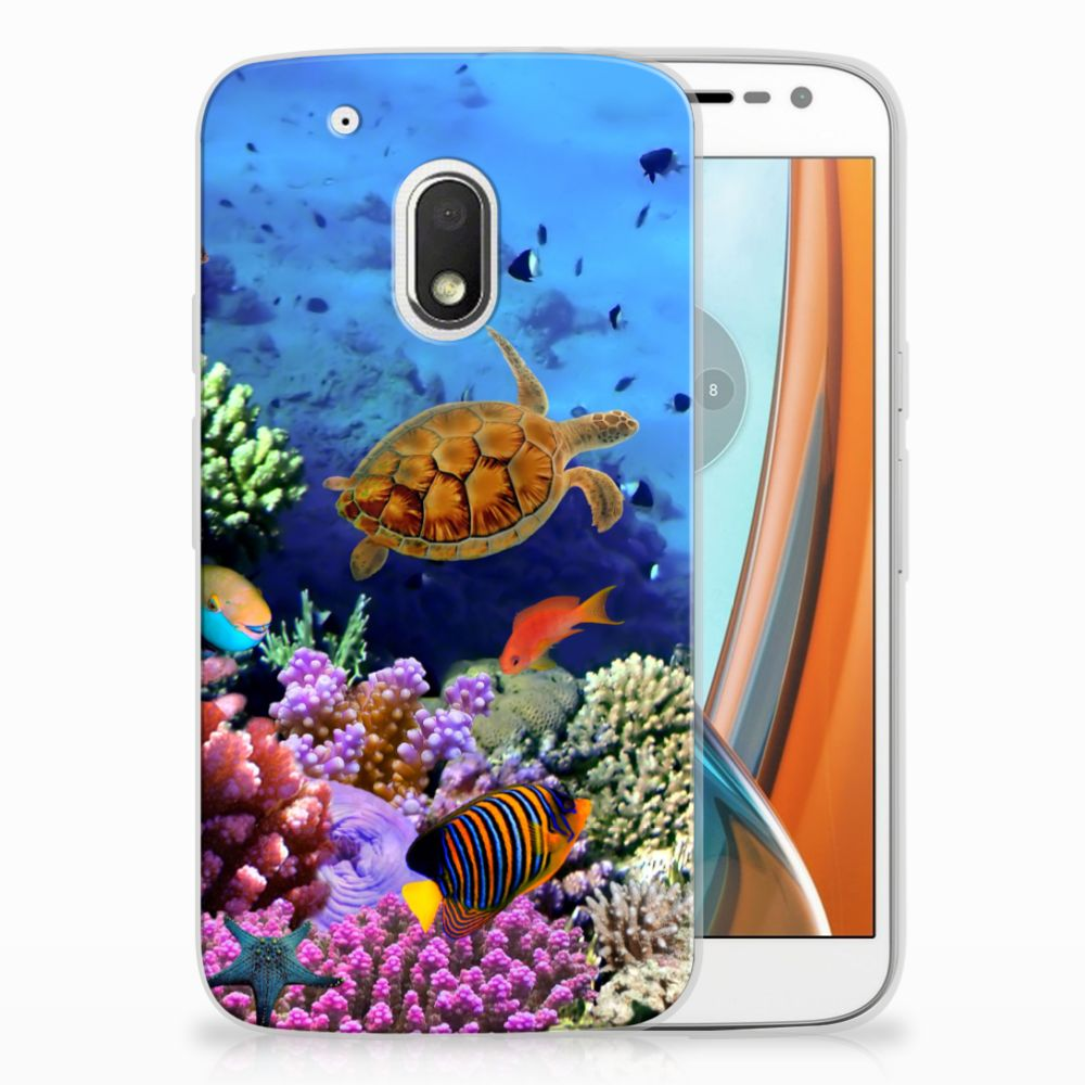 Motorola Moto G4 Play TPU Hoesje Design Vissen