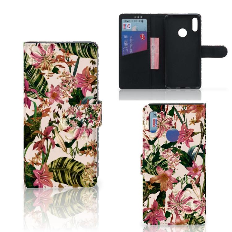 Huawei Y7 Pro | Y7 Prime (2019) Hoesje Flowers