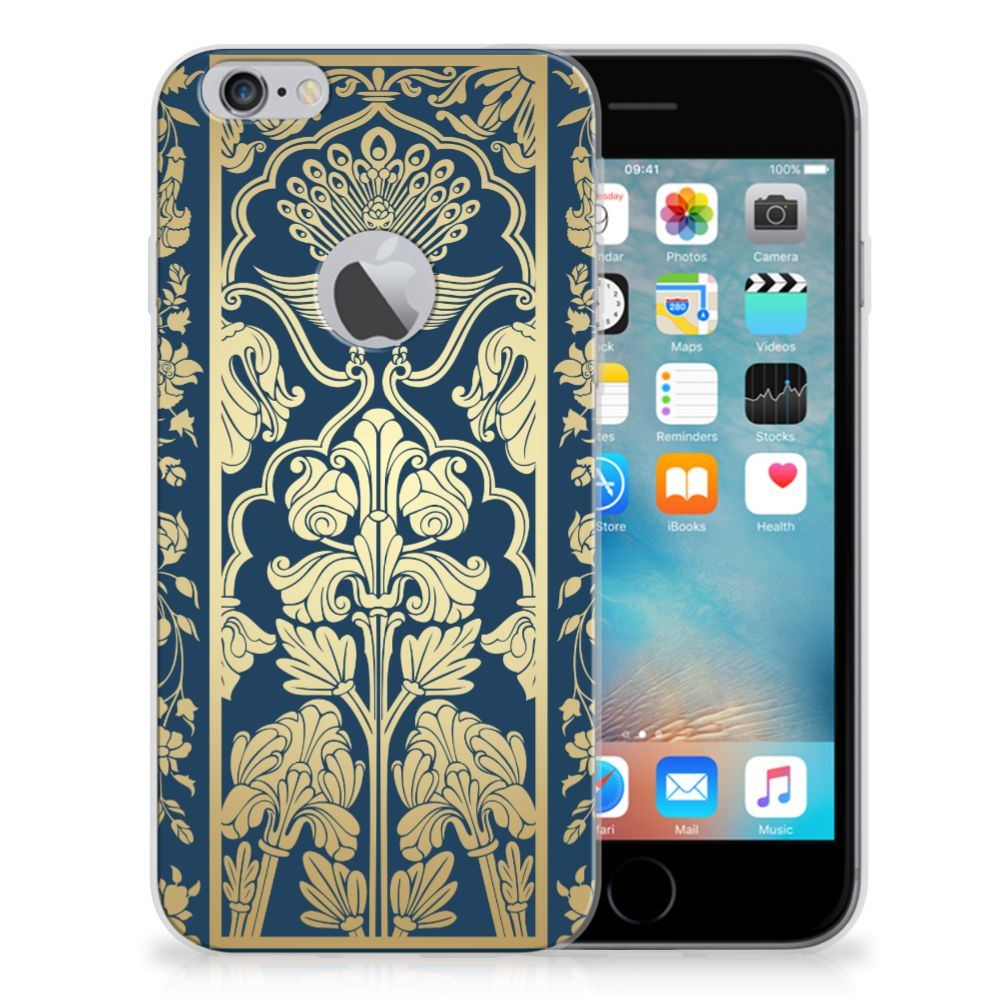 Apple iPhone 6 Plus | 6s Plus TPU Case Golden Flowers