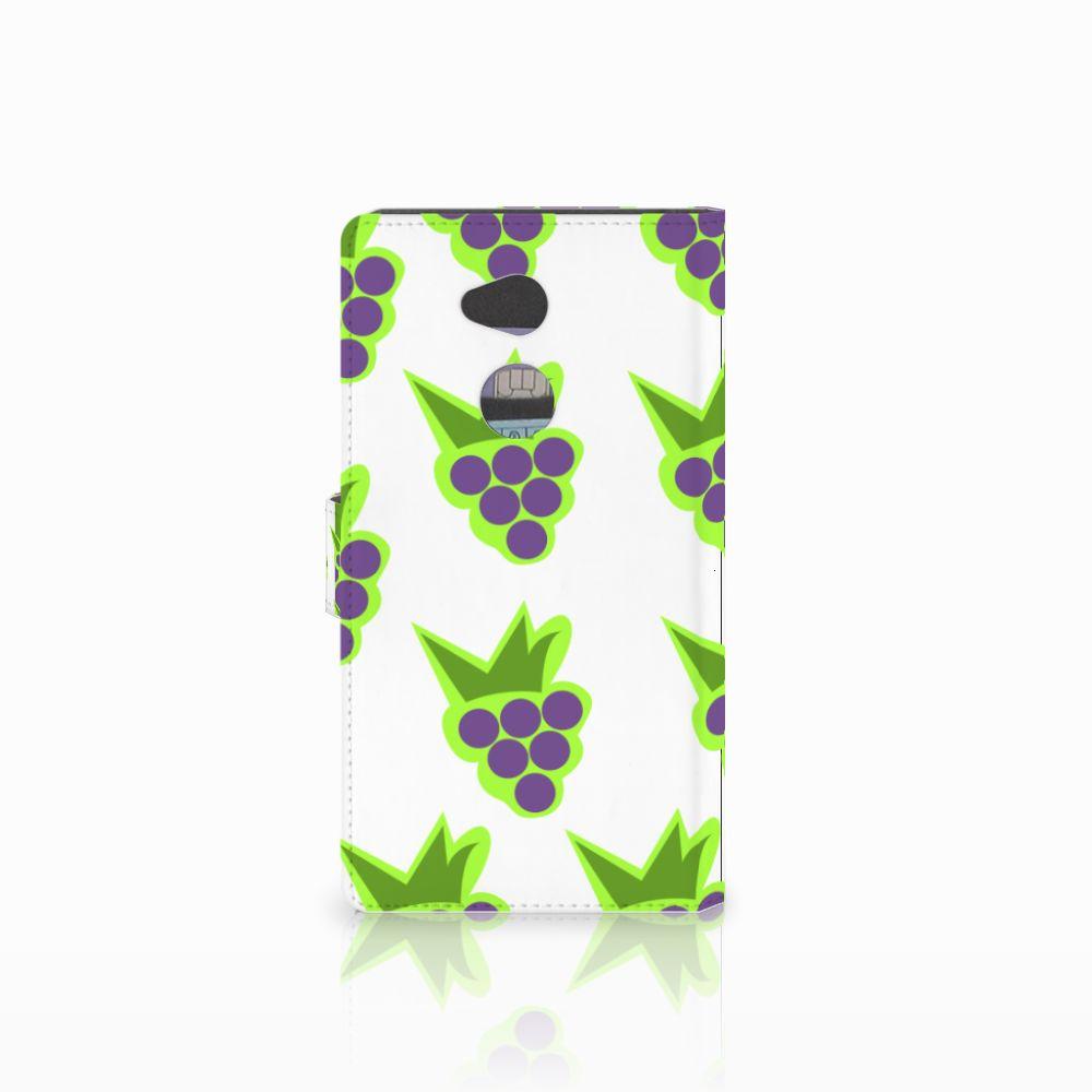 Sony Xperia XA2 Ultra Book Cover Druiven
