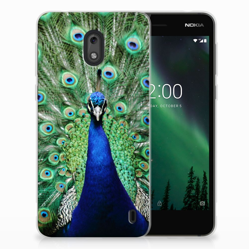 Nokia 2 TPU Hoesje Pauw