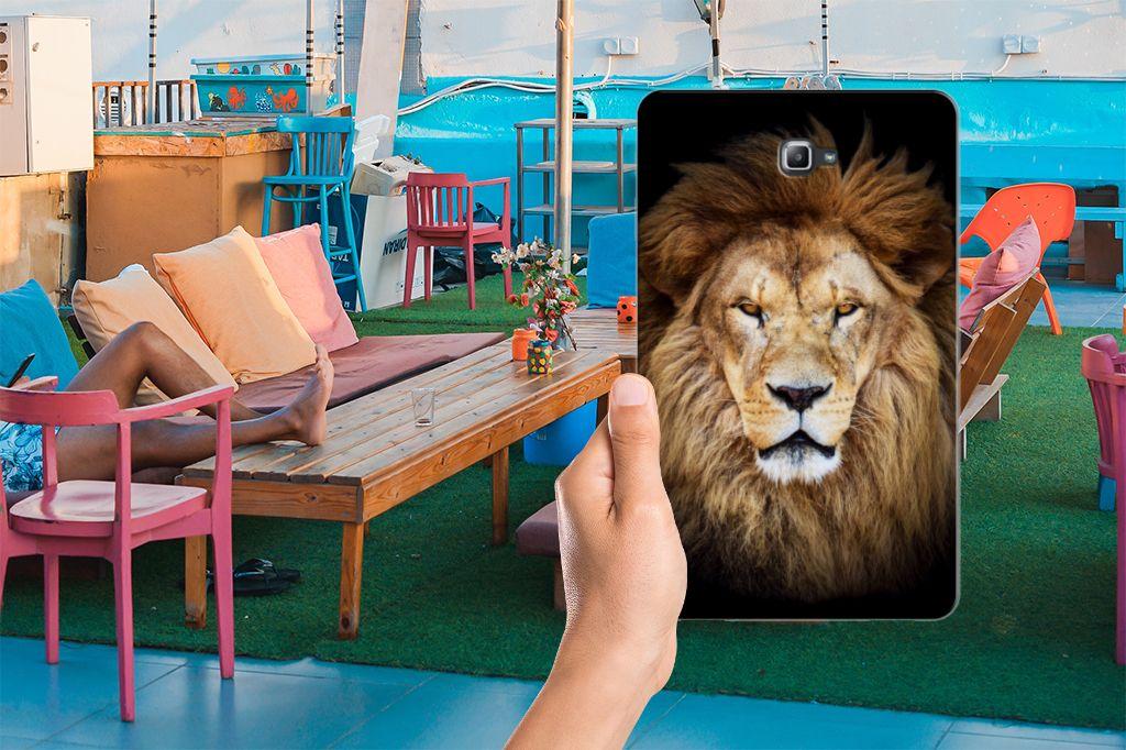 Samsung Galaxy Tab A 10.1 Back Case Leeuw