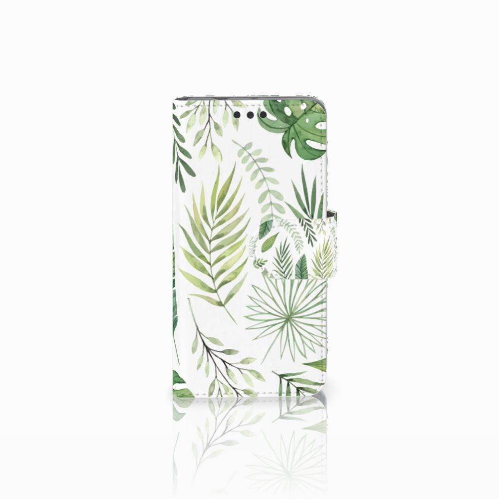 Sony Xperia Z3 Compact Uniek Boekhoesje Leaves