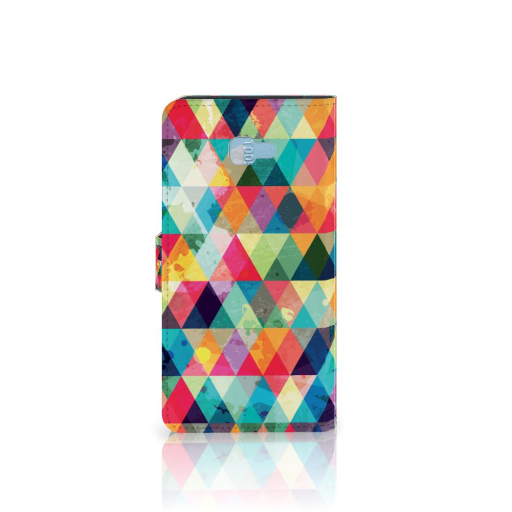 Samsung Galaxy J4 Plus (2018) Telefoon Hoesje Geruit