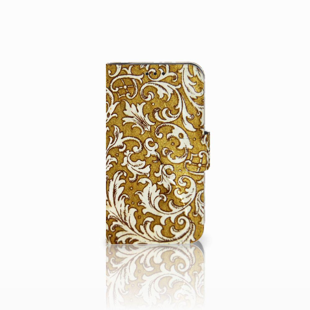 LG L90 Boekhoesje Design Barok Goud