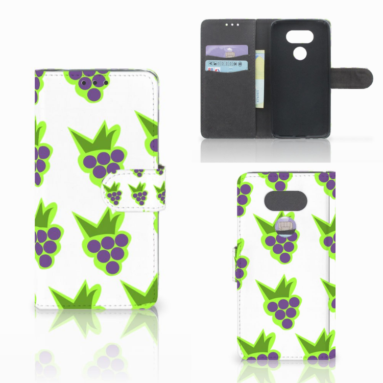 LG G5 Book Cover Druiven