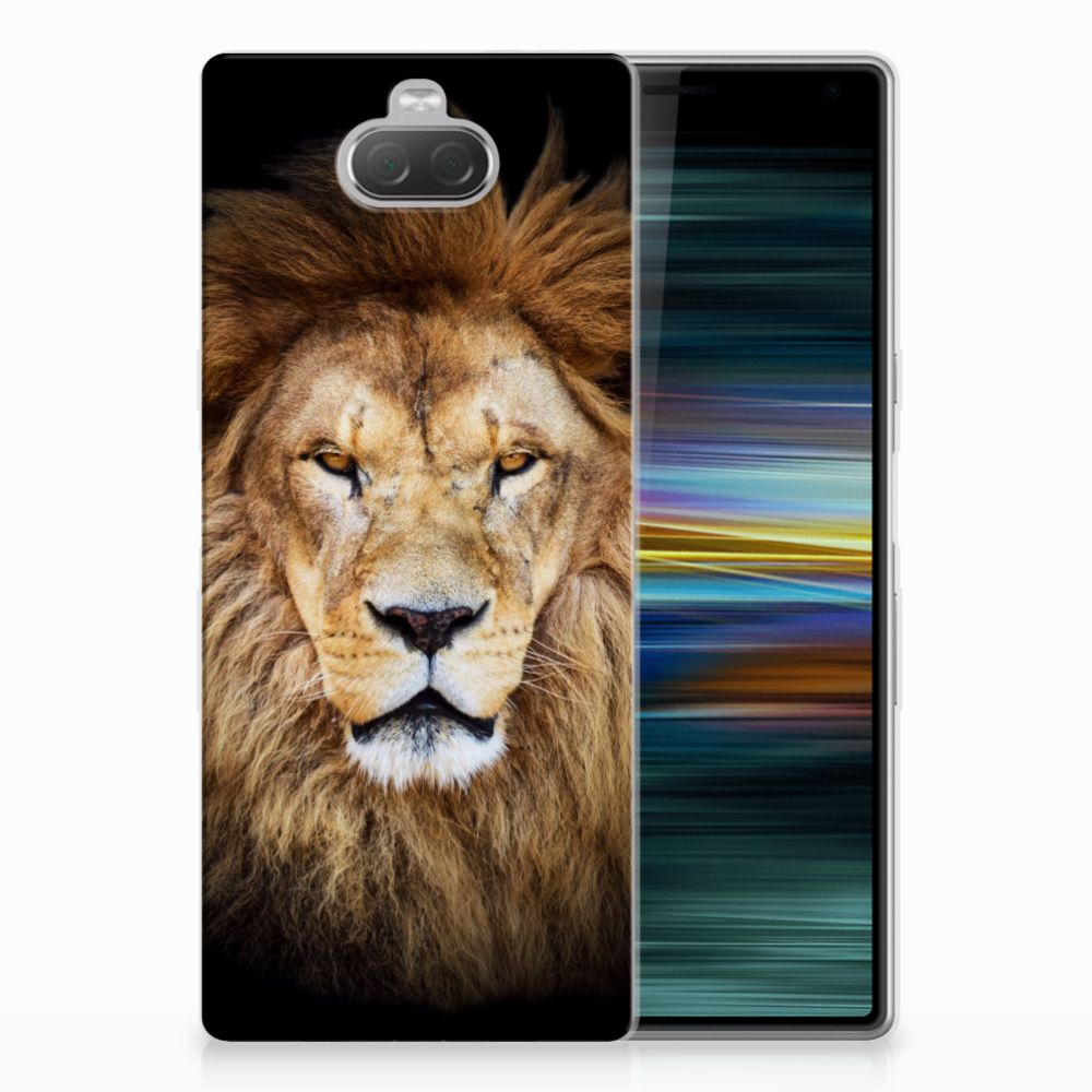 Sony Xperia 10 Plus TPU Hoesje Leeuw