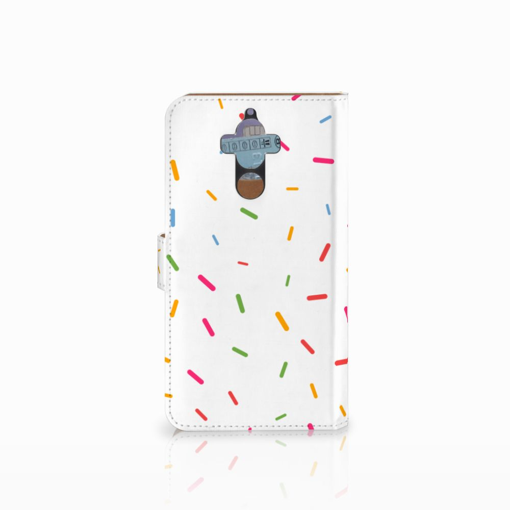 Huawei Mate 9 Book Cover Donut Roze