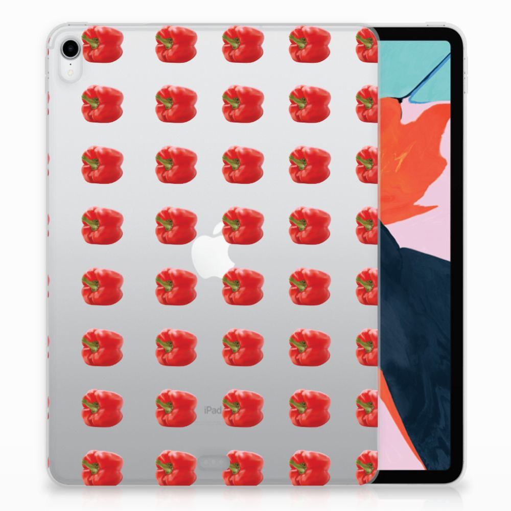 Apple iPad Pro 11 inch (2018) Tablet Cover Paprika Red