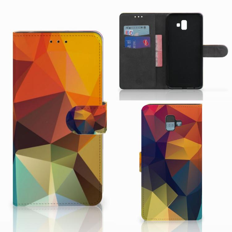 Samsung Galaxy J6 Plus (2018) Bookcase Polygon Color