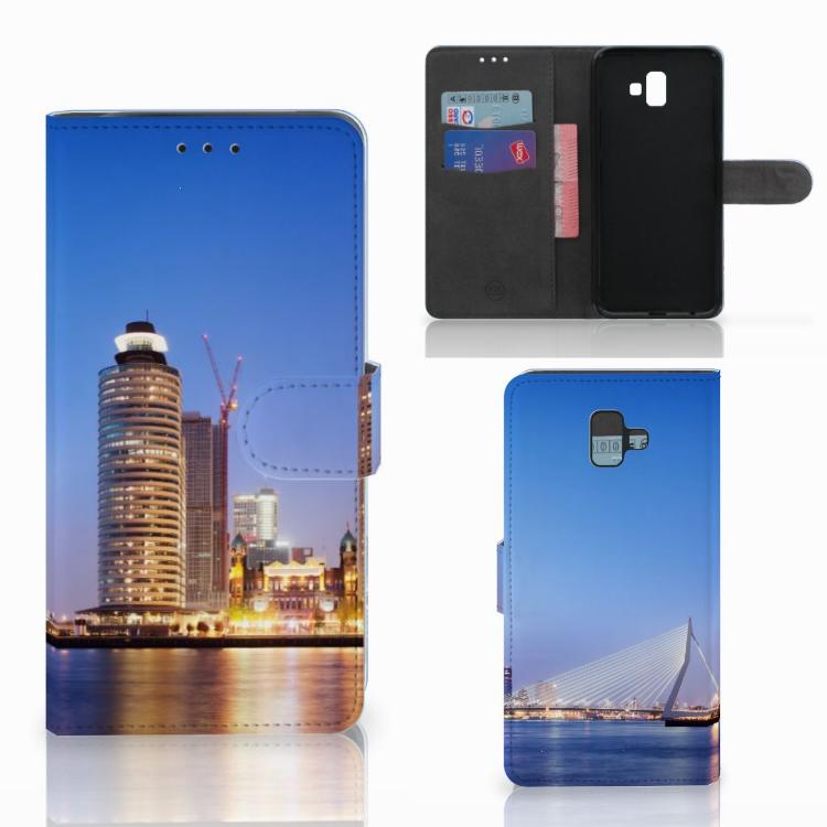 Samsung Galaxy J6 Plus (2018) Flip Cover Rotterdam