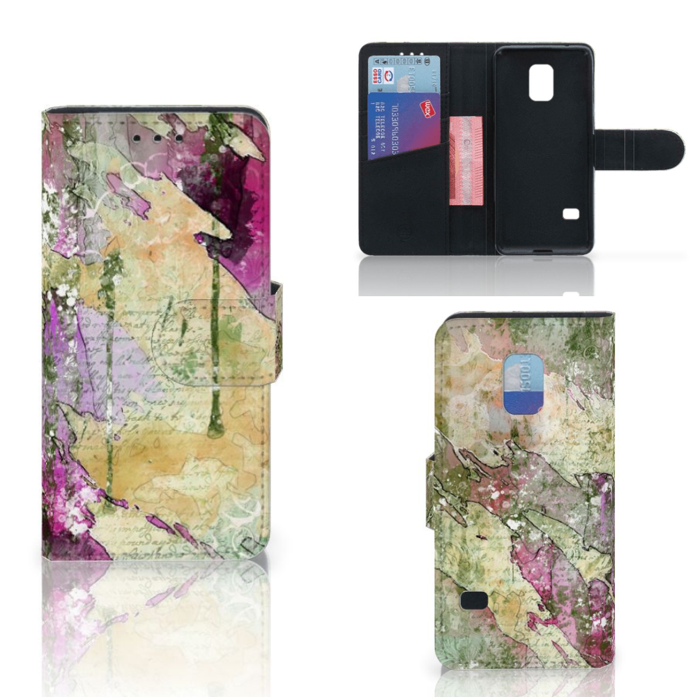 Hoesje Samsung Galaxy S5 Mini Letter Painting