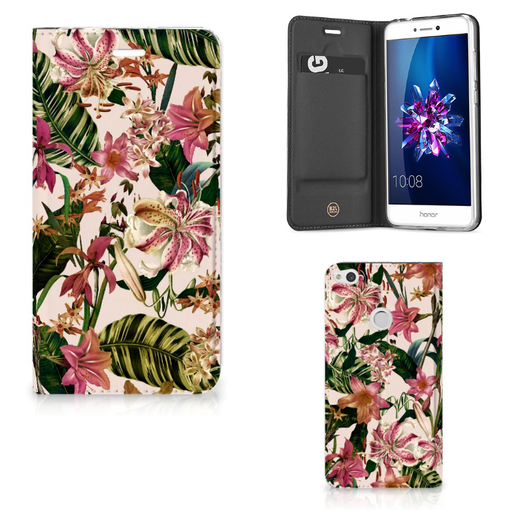 Huawei P8 Lite 2017 Smart Cover Flowers
