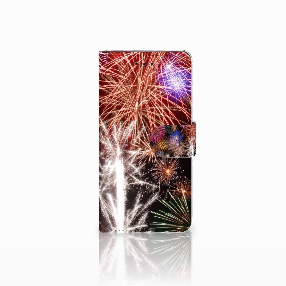 Huawei Y5 2018 Boekhoesje Design Vuurwerk