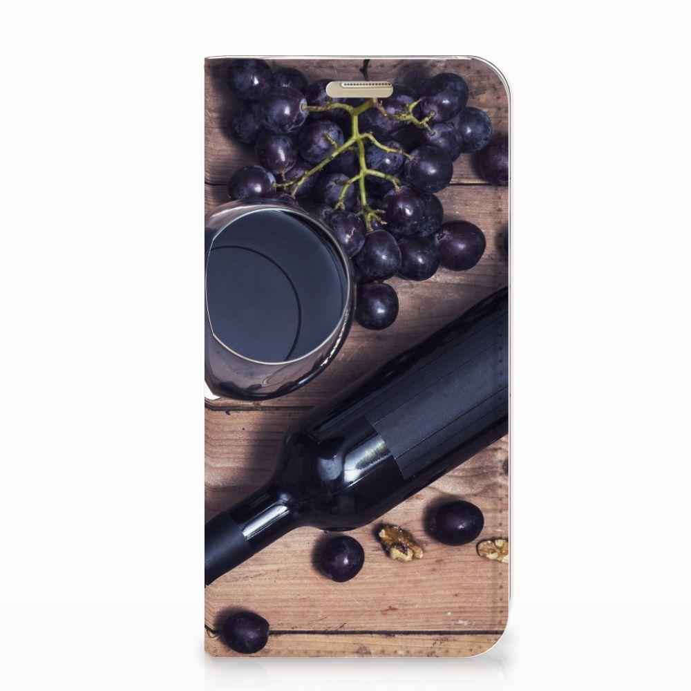 Samsung Galaxy A3 2017 Flip Style Cover Wijn