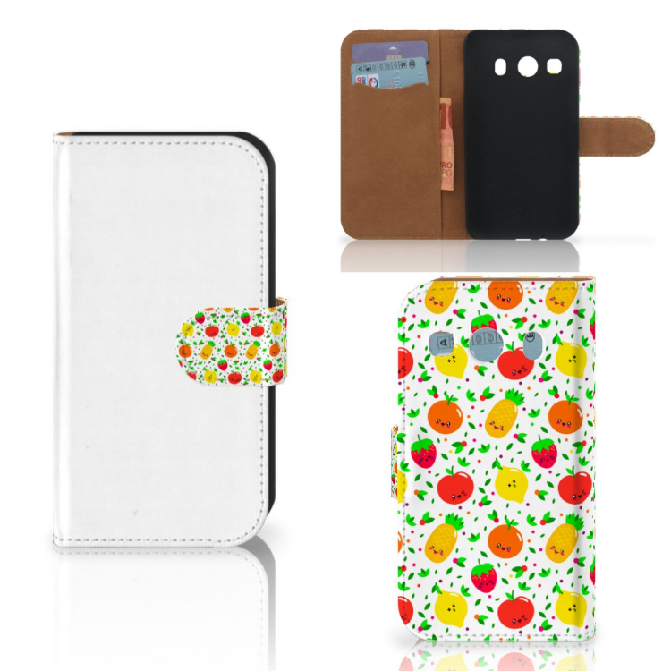 Samsung Galaxy Ace 4 4G (G357-FZ) Book Cover Fruits