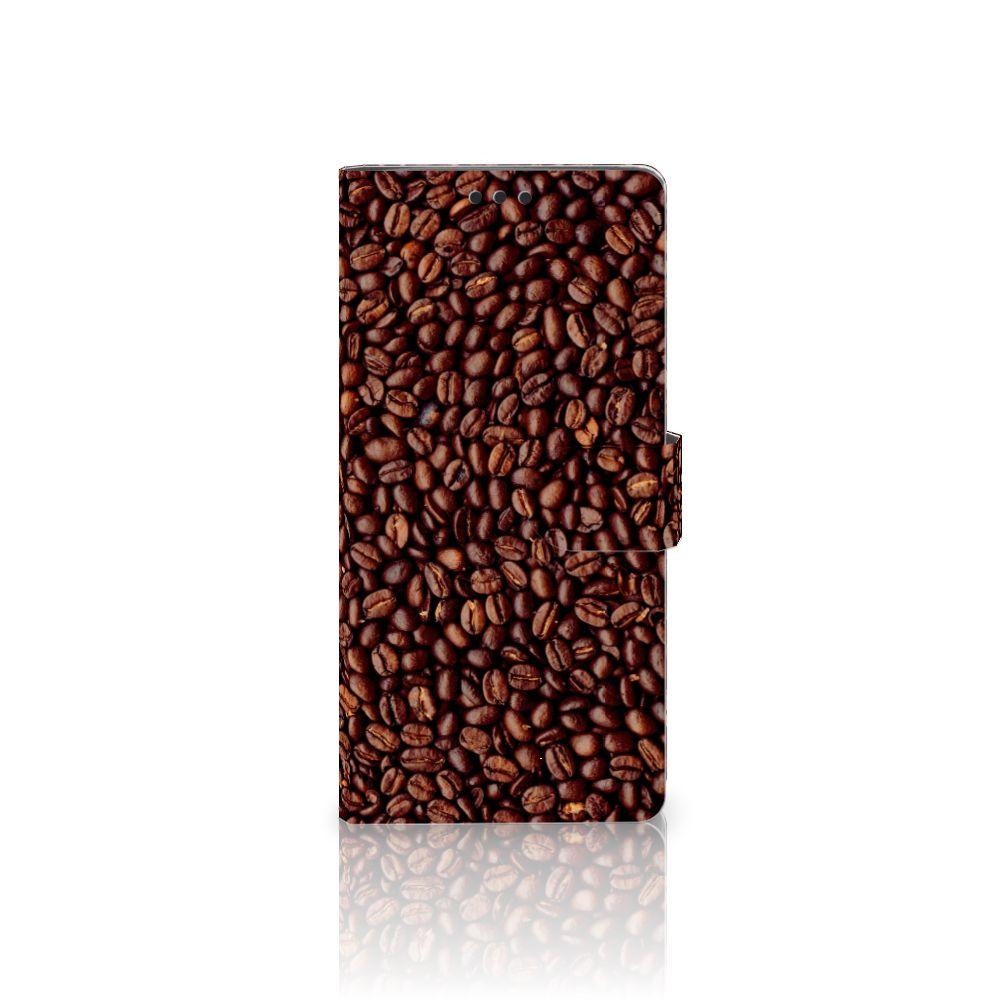 Sony Xperia XA Ultra Uniek Boekhoesje Koffiebonen
