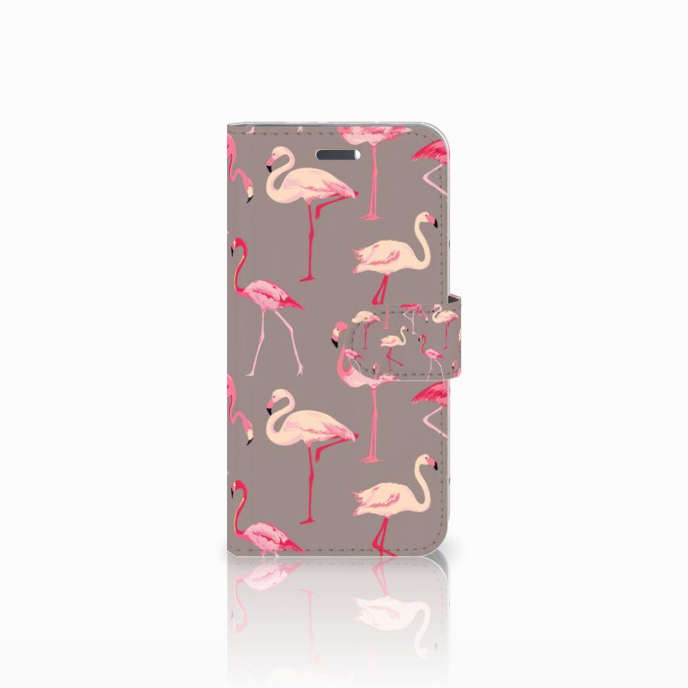 Lenovo Vibe K5 Uniek Boekhoesje Flamingo