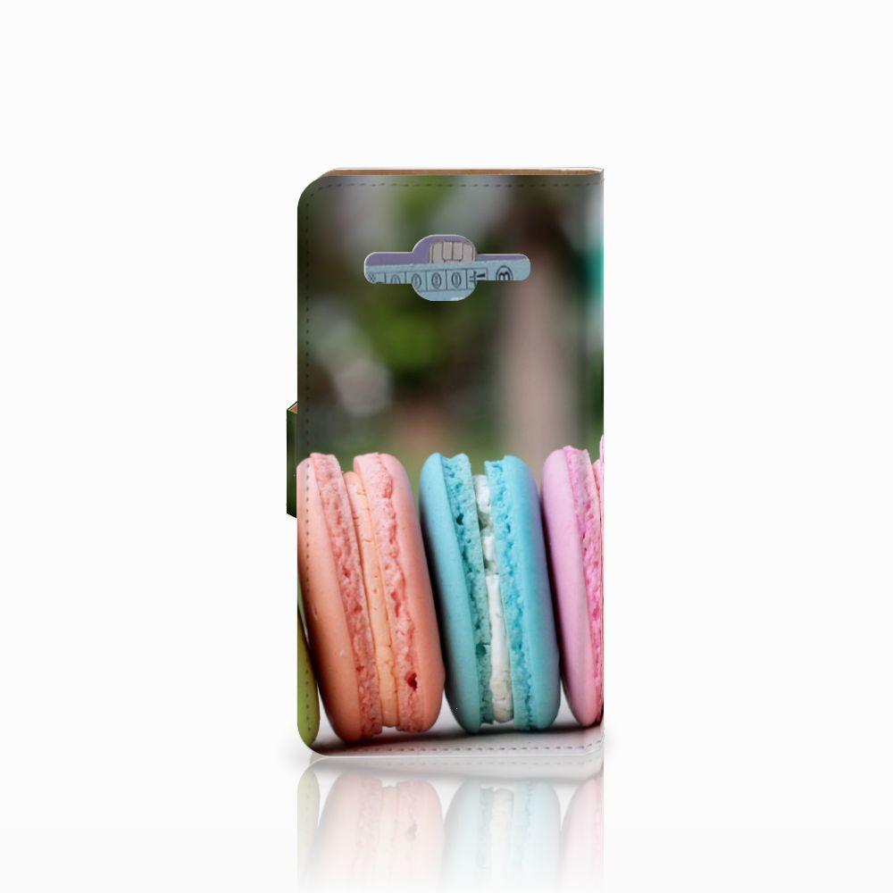 Samsung Galaxy J2 2016 Book Cover Macarons