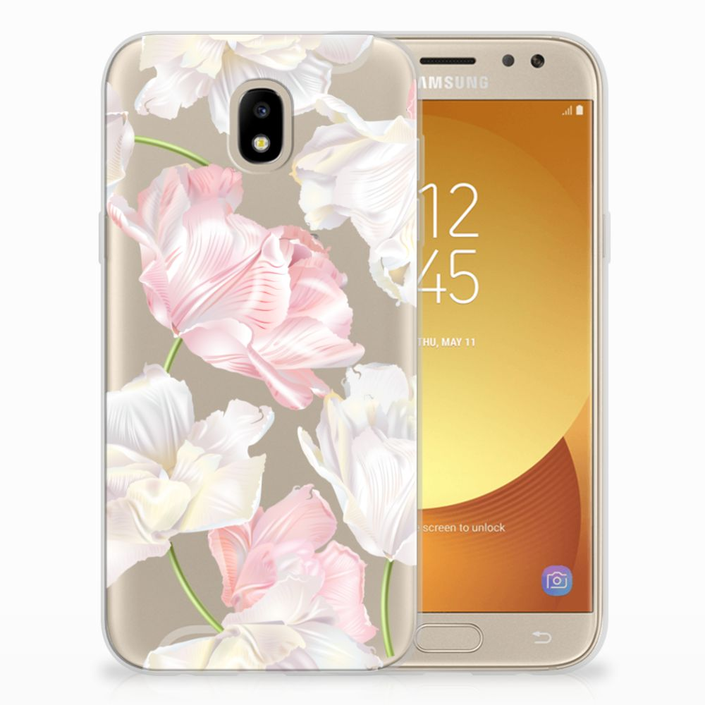 Samsung Galaxy J5 2017 TPU Case Lovely Flowers