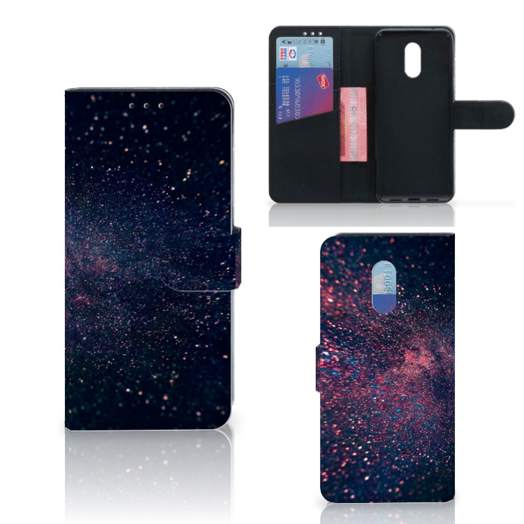 OnePlus 6T Bookcase Stars